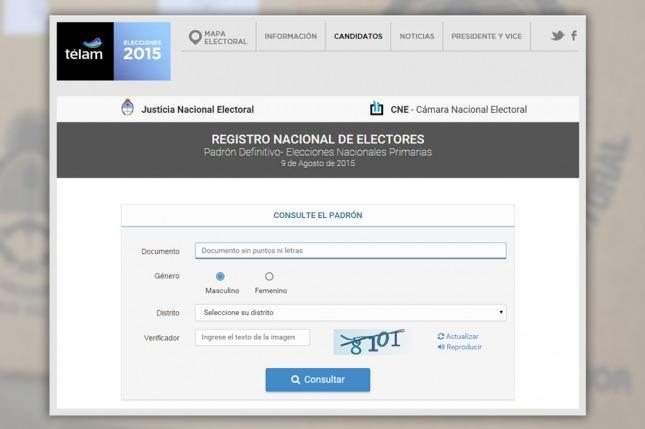 Extienden plazo para consultar padrón y fijan documentos válidos para votar