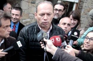 Berni lanzó su candidatura a gobernador y reclamó internas en el PJ