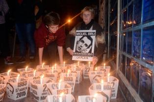 Con una vigilia, recordarán los 26 años de desaparición de Miguel Bru