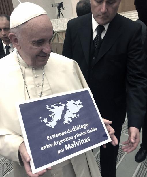 El Papa Francisco se sumó a la causa Malvinas