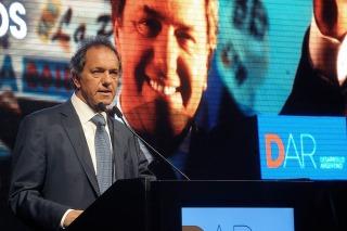 """Scioli criticó a la oposición por carecer de una """"agenda superadora"""""""