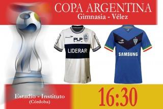Copa Argentina: Gimnasia y Vélez buscan un lugar entre los ocho mejores