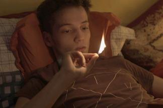 """Escena del corto """"55 pastillas"""""""