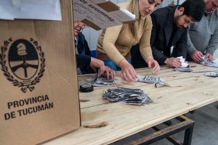 Esta tarde comienza el escrutinio definitivo, pero Buenos Aires inicia el conteo mañana