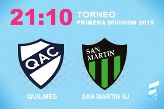Quilmes quiere prolongar su buena racha frente a San Martín