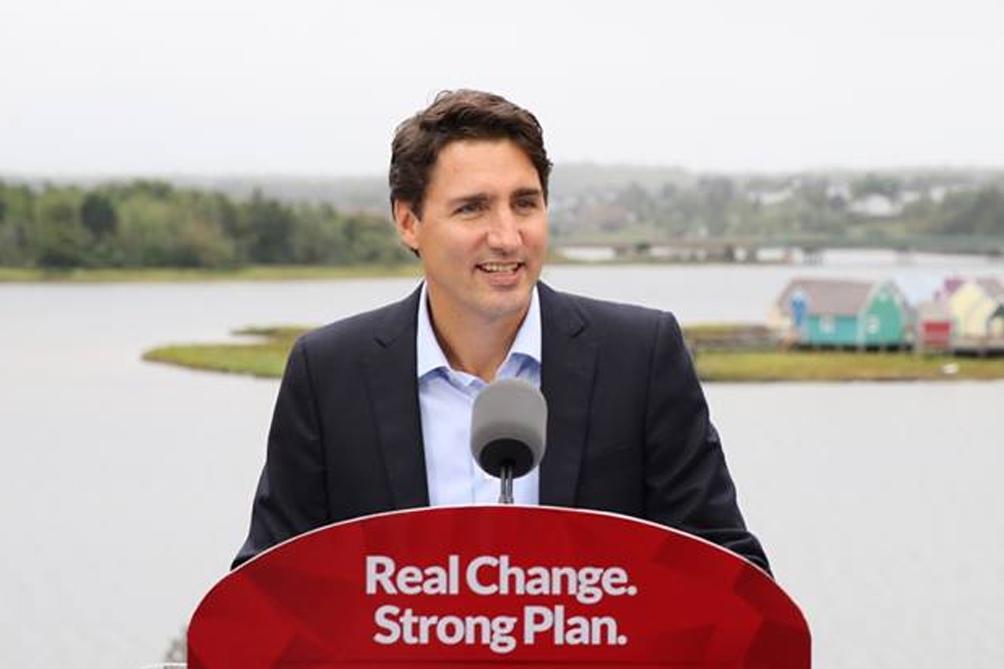 Justin Trudeau, primer ministro de Canadá y líder del Partido Liberal