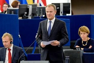 Tusk afirma que la UE no renegociará el Brexit con el Reino Unido