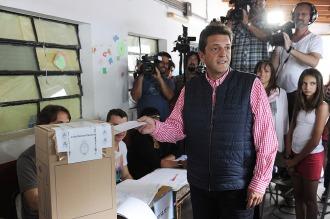 """""""Vivo este día con mucha alegría porque seguimos consolidando la democracia"""""""