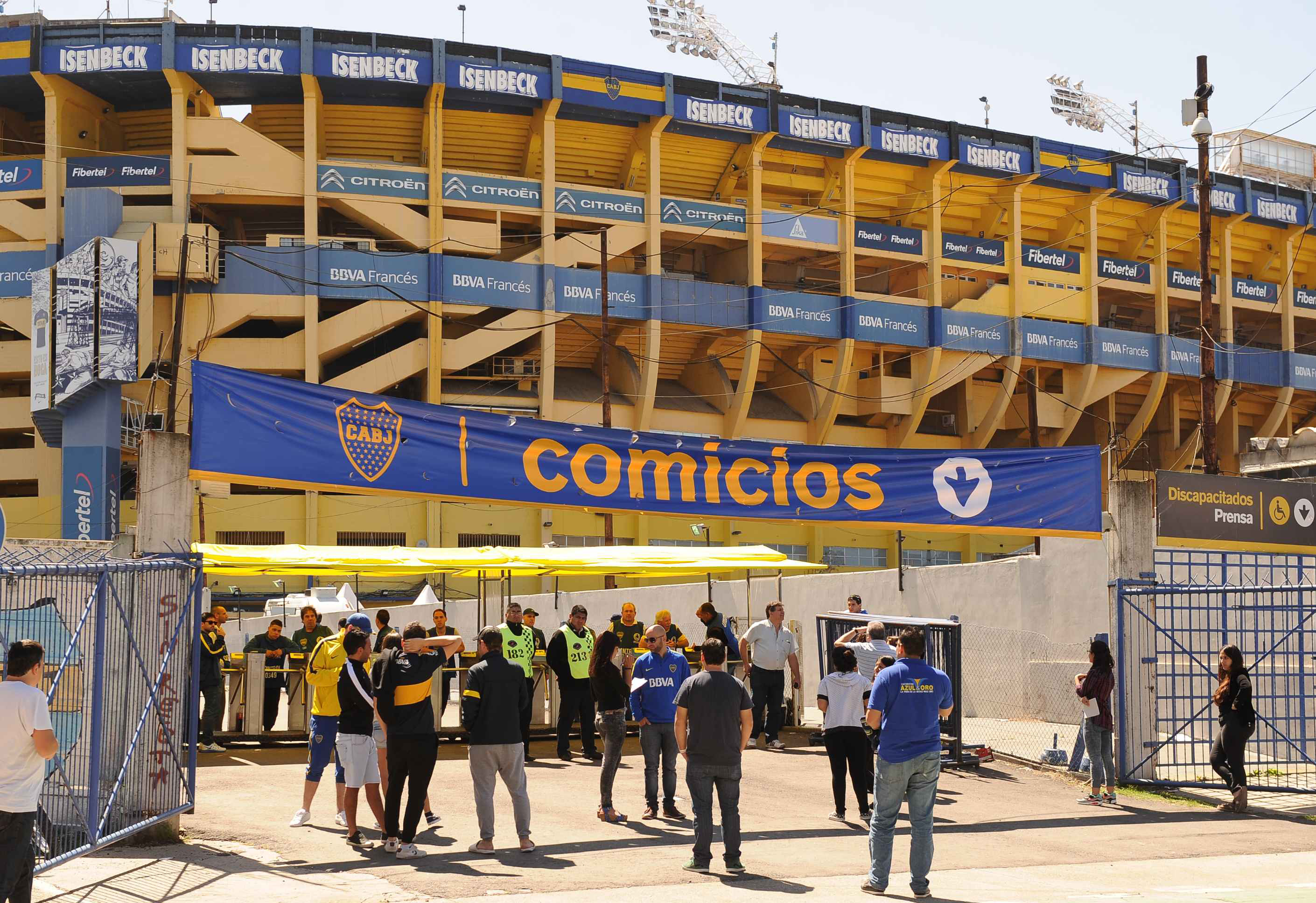 Boca renueva sus autoridades con 84 mil socios habilitados para votar