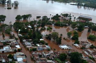 El río Uruguay podría alcanzar la altura de alerta en Concordia