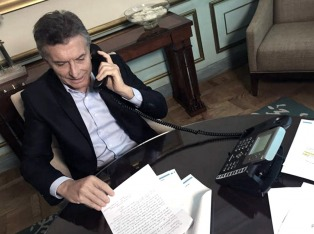Macri felicitó al médico riojano que estuvo de guardia casi dos meses