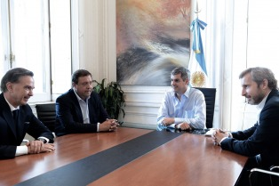 """Frigerio y Pichetto coincidieron en """"dar previsibilidad a la Argentina"""""""