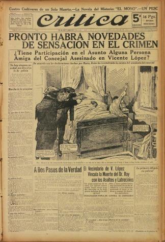 arte y sociedad en un diario argentino t lam agencia On diarios del espectaculo de argentina