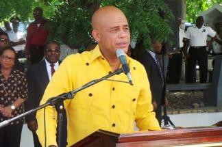Michel Martelly, ex presidente de Haíti