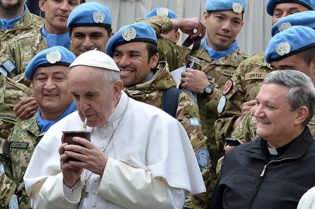 Mateada con el Papa