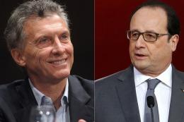 Confirmaron la fecha en la que Hollande visitar� el pa�s  para reunirse con Macri