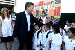 Macri anuncia los resultados de la evaluación Aprender 2017