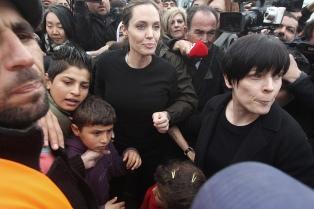 Angelina Jolie y la OTAN, contra la violencia sexual en zonas de conflicto