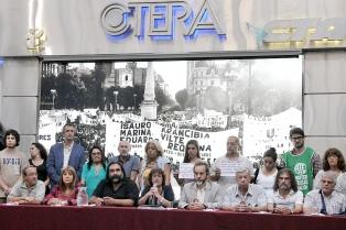 Ctera denunciará el decreto que modifica la paritaria docente
