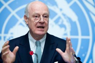 La ONU convocó a una ronda de diálogo de paz para Siria en Suiza