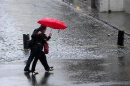 Fin de semana con lluvias en la Ciudad y el conurbano
