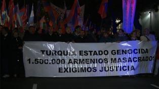 La sociedad argentina, firme en la condena del genocidio armenio