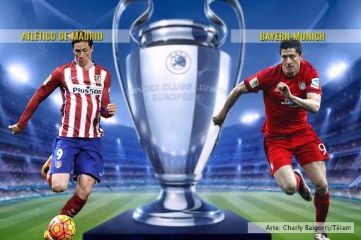Atlético de Madrid toma ventaja en la Champions