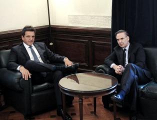Massa le pidió a Pichetto reflotar el proyecto de reforma electoral pero no tuvo éxito