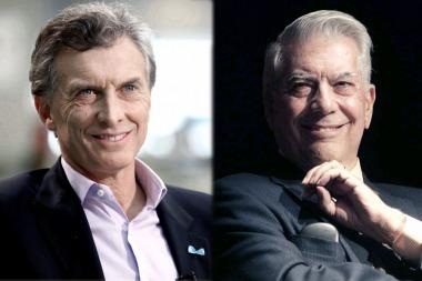 Macri recibirá a Vargas Llosa y cenará con referentes de la Fundación Libertad
