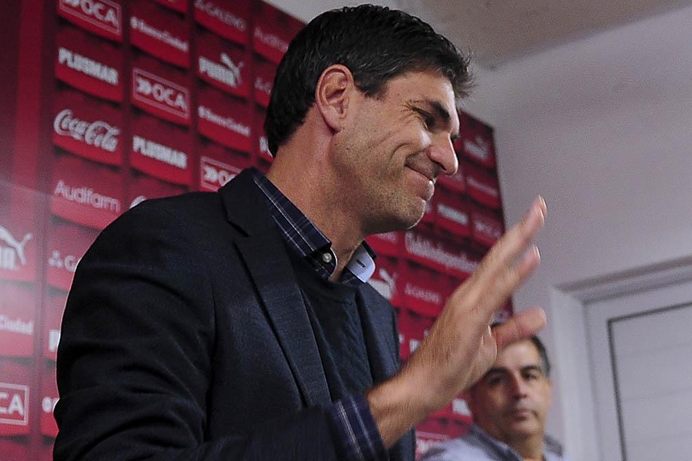 """Mauricio Pellegrino, el DT que busca la dirigencia """"cuerva"""""""