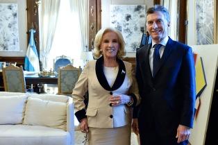 Macri asistió al festejo por los 91 años de Mirtha Legrand