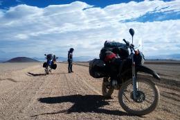 La vuelta al mundo en moto: tres continentes, 40 pa�ses y casi tres a�os de viaje