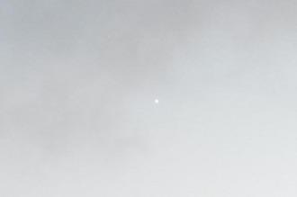 Una luz blanca desconcertó a los habitantes de varias ciudades de la costa