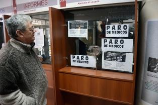 Médicos de los 80 hospitales bonaerenses paran el miércoles