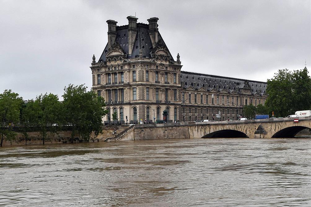 [VIDEO] París bajo el agua