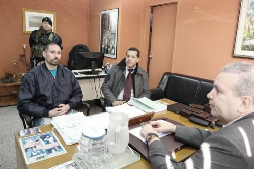 Pérez Corradi dijo que no quiere ser extraditado porque su vida corre peligro