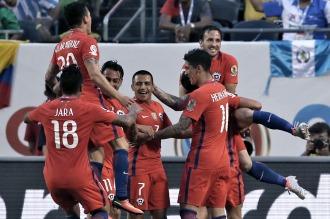 Chile terminó imponiéndose a Colombia y es finalista de la copa junto a Argentina