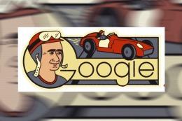 Google rinde homenaje a Juan Manuel Fangio en el d�a de su 105 cumplea�os