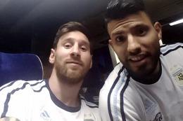El Kun Ag�ero salud� a Messi por su cumplea�os y le dej� un mensaje a la AFA