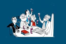 Una marat�nica velada de ideas, debates y gastronom�a guiada por 43 pensadores