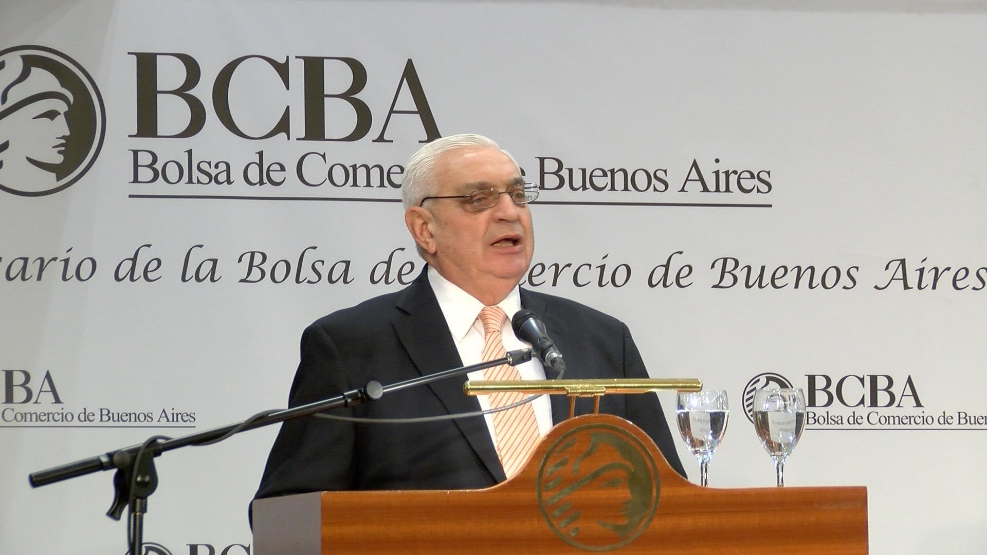 Para el presidente de la Bolsa de Comercio, la Argentina es