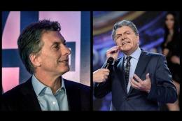 Macri consider� incre�ble que Tinelli se ofenda porque lo criticaron 30 mil tuiteros