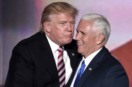 Trump acept� su nominaci�n republicana y dijo que ser� la