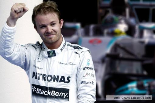 Rosberg ganó el Gran Premio de Fórmula 1 de Bélgica