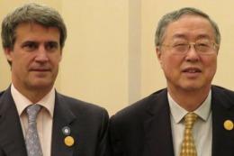 El ministro Prat Gay negocia l�neas de financiaci�n de China para la Argentina