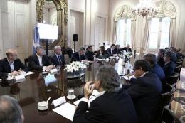 Macri se re�ne con su gabinete y anuncia un plan contra la violencia de g�nero