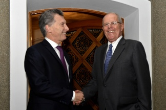 Macri se entrevistó con Kuczynski en Lima
