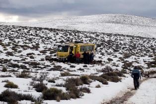 Conforman un comité de emergencia ante las nevadas que dejan intransitable la provincia