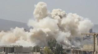 Más de 60 muertos en bombardeos al bastión rebelde cerca de Damasco