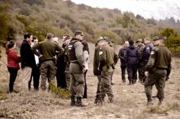 Procesaron con prisi�n preventiva a dos polic�as de Bariloche por encubrir el crimen de su compa�ero Mu�oz